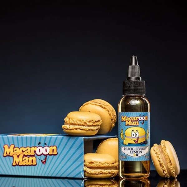 *** Discontinued *** Macaroon Man - Huckleberry Lemon 60ml