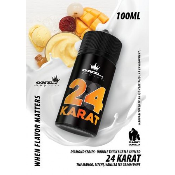 OneOz Vapour - 24 Karat Diamond Series 100ml