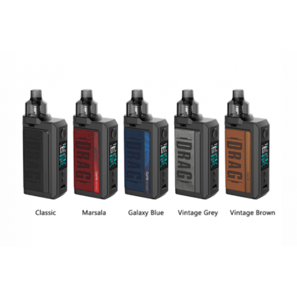 VOOPOO DRAG MAX 177W POD MOD KIT (Dual 18650 Batteries Not Included)