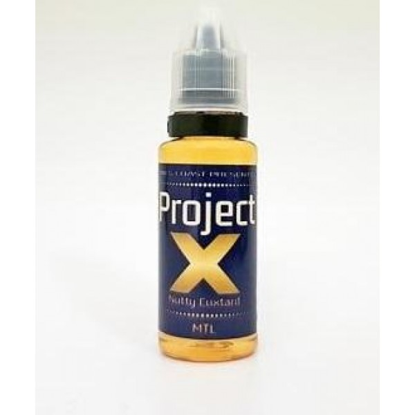 Project X Nutty Cuxtard MTL 20ML