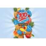 Keep it 100 - Blue Slushie Tropical 100ml
