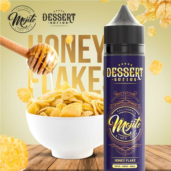 Mojito Dessert Series - Honey Flake 60ml