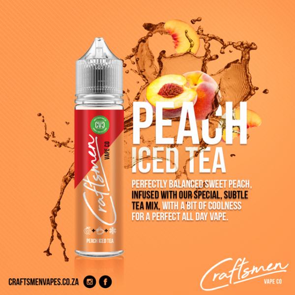 Craftsmen - Peach Ice Tea 60ml