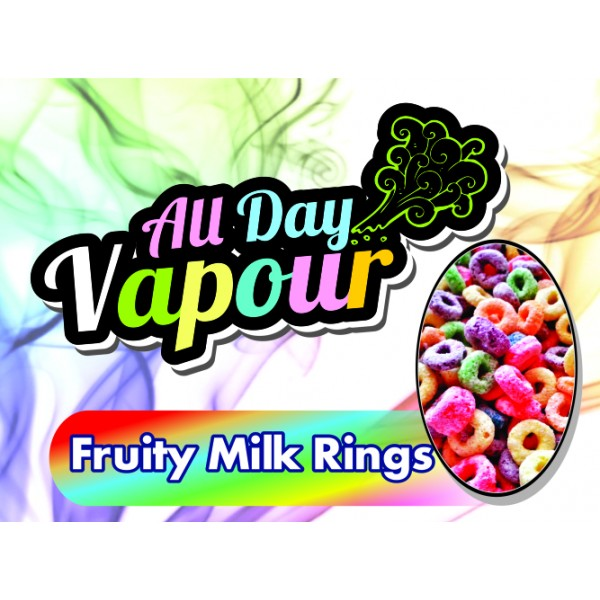 All Day Vapour - Fruity Milk Rings 30ml