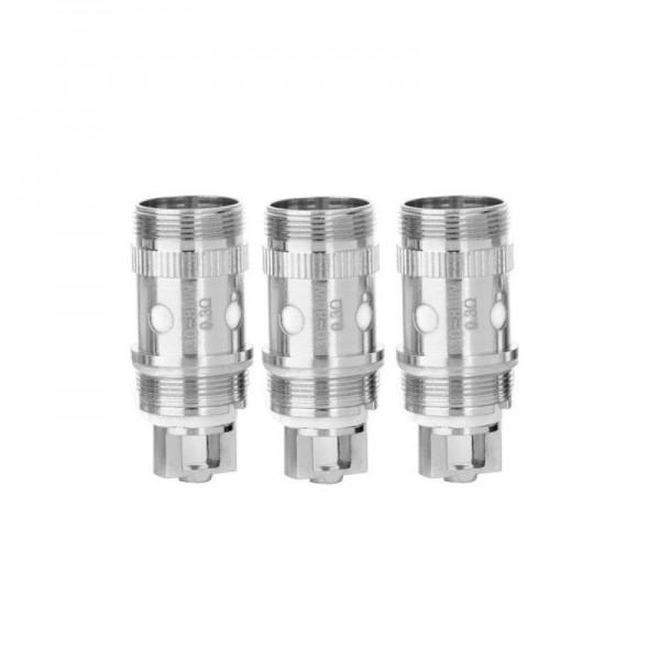 Coil Head - Eleaf iJust 2, iJust S, Melo and Dotmod Petri Tanks - 0.3 ohm (EC type)