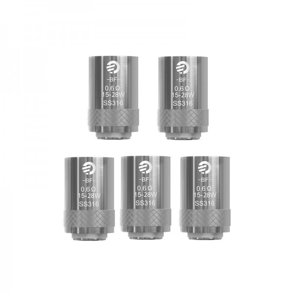 *** Discontinued *** Coil Head - Joyetech BF SS316 0.6 ohm for eGO AIO and Cubis Tanks