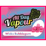 All Day Vapour - Wicks Bubblegum 30ml
