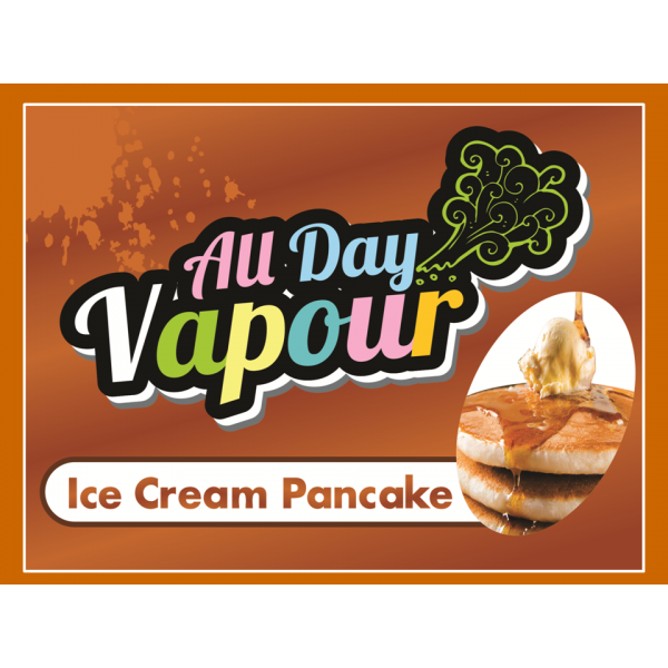 All Day Vapour - Ice Cream Pancake 30ml