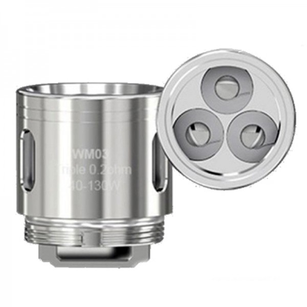 *Pre-order* Coil Head - Wismec WM03 Triple 0.2ohm Coil for Gnome Tank